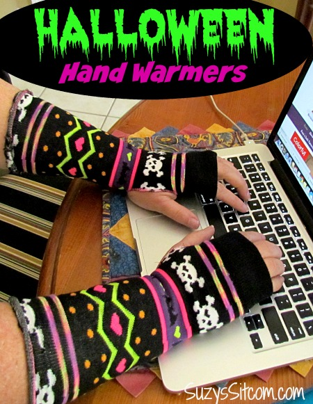 easy halloween hand warmers