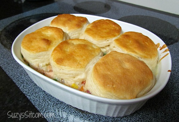 Getting chilly out easy chicken and dumplings casserole chicken and dumpling casserole ccuart Images