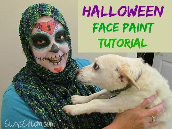 tulip halloween face paint