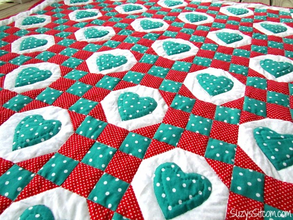 Sweethearts quilt pattern