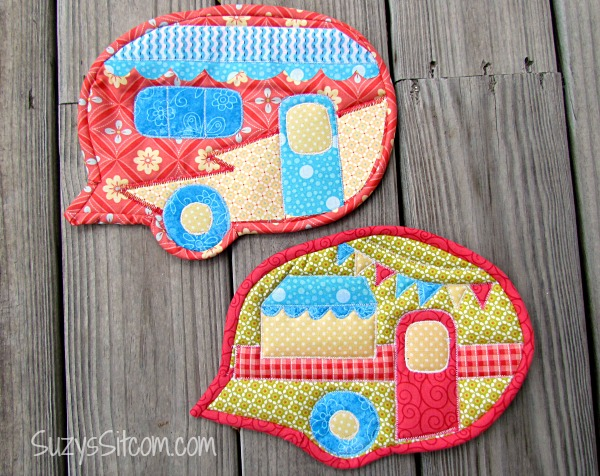 campervan shaped pot holder
