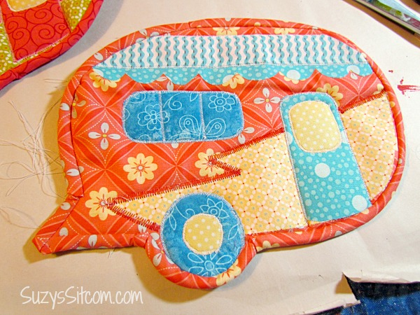 camper pot holders free pattern