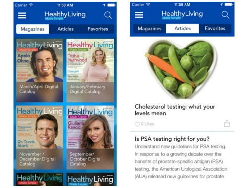 sams club healthy living app