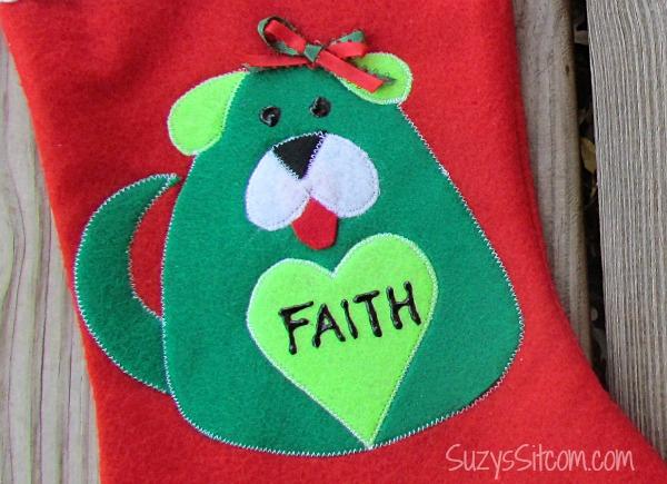 pet christmas stocking pattern