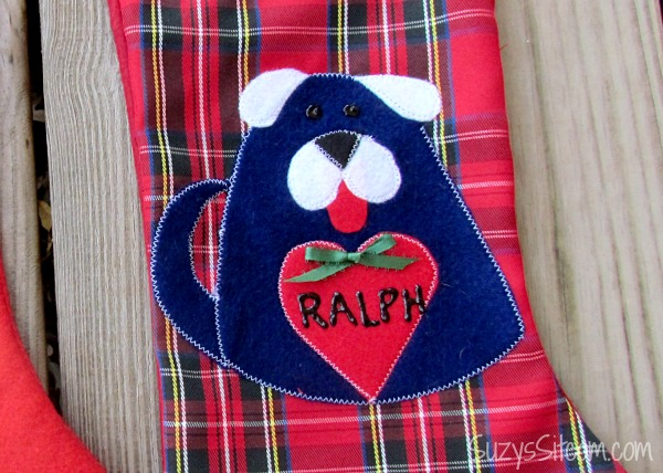 pet christmas stocking pattern