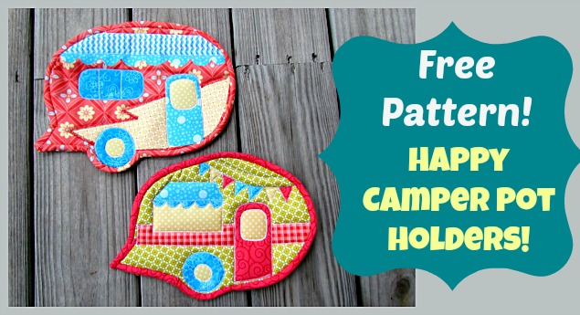 free pattern camper potholders