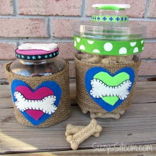 dog treat jar diy