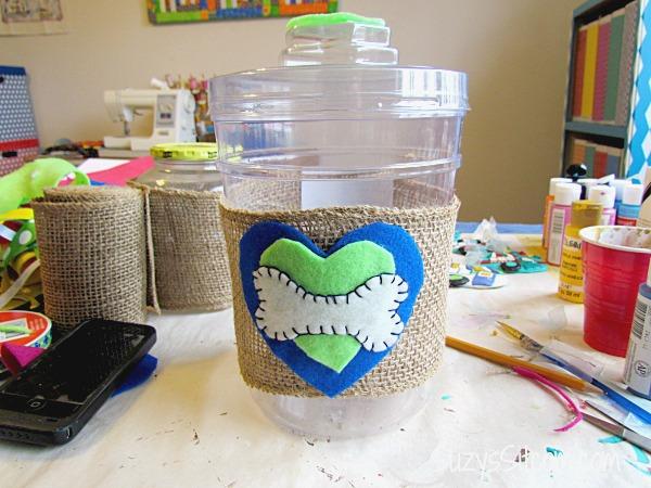 Dog Treat Jar Diy For Those Valentine S Day Treats