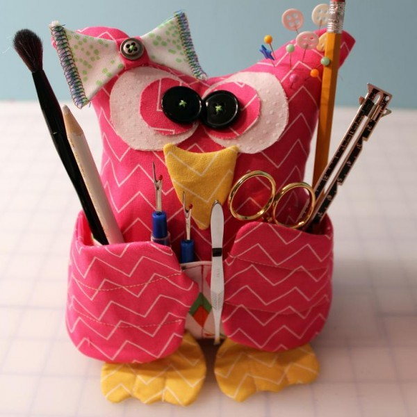 owl sewing buddy pattern