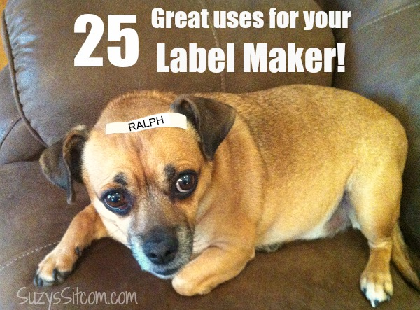 25 great uses for your label maker