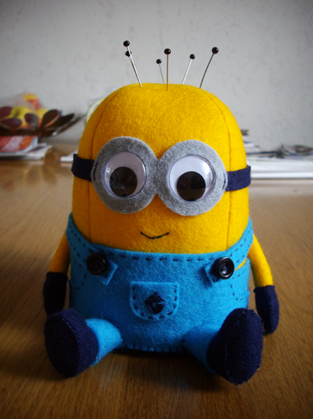 minion pincushion free pattern