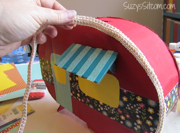 Create A Happy Camper Valentine Card Box