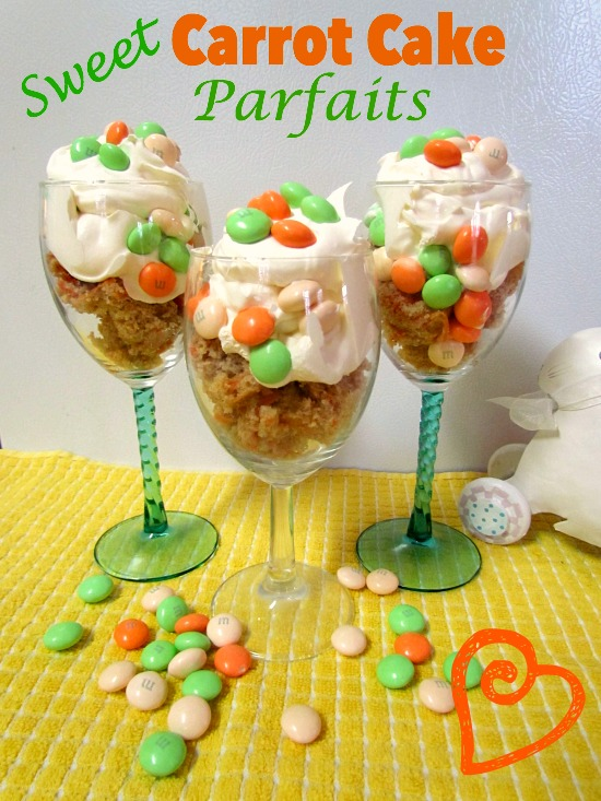 Sweet Carrot Cake Parfaits