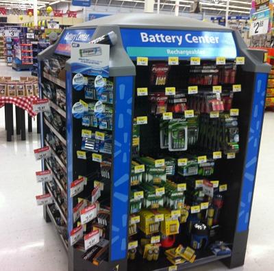 battery kiosk walmart