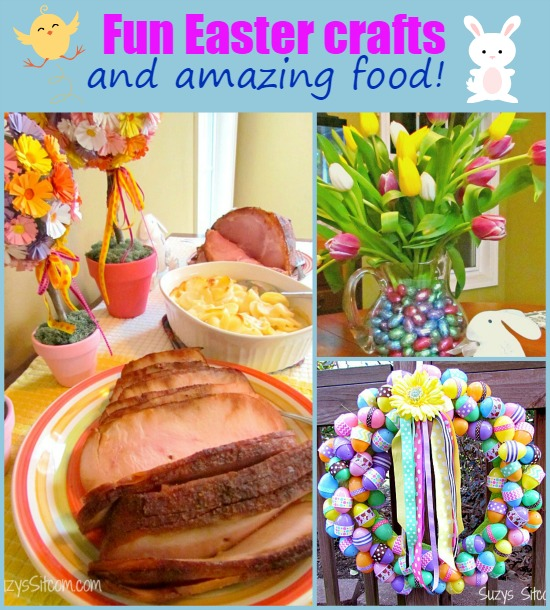 fun easter crafts and amazing food