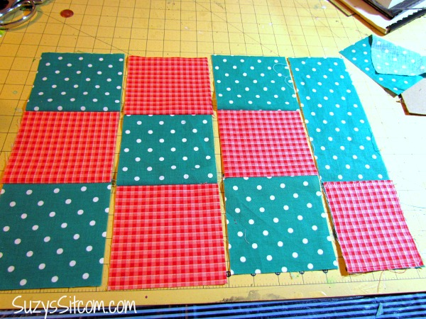 DIY Quilted Doggie Placemats and tasty nutrition for your dog!