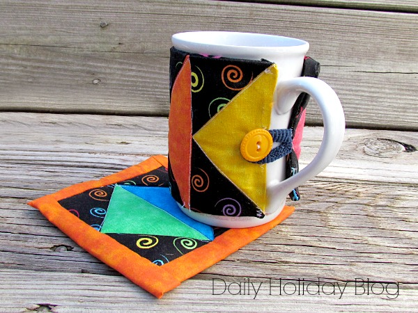 quilted mug warmer pattern
