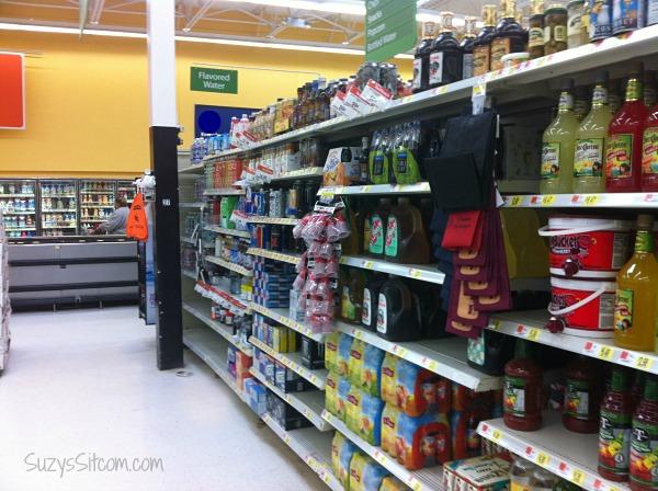 walmart drink aisle