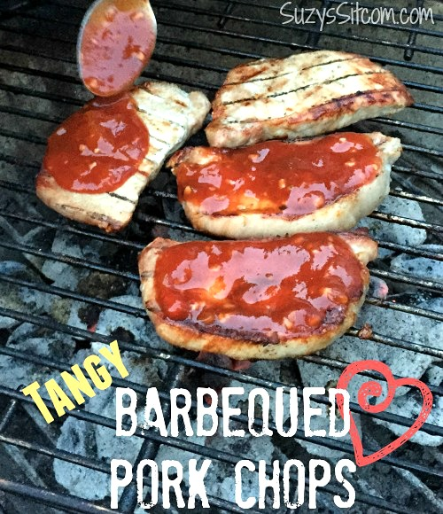 easy tangy grilled barbecue pork chops recipe