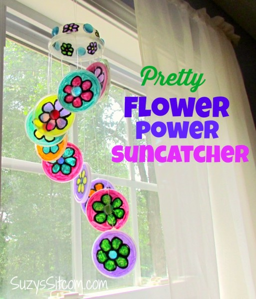 recycled craft plastic lid sun catcher11