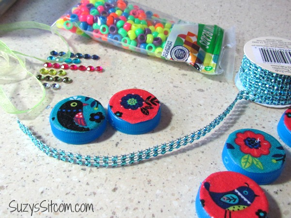 bottle cap bracelet