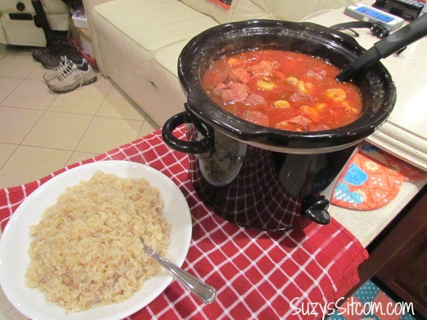 crock pot jambalaya