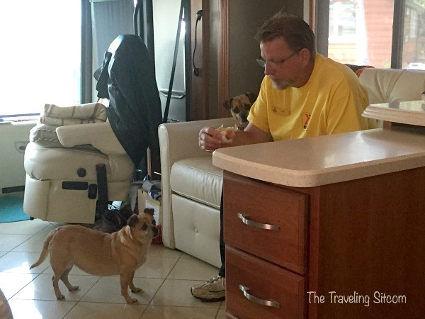 living full time in a rv