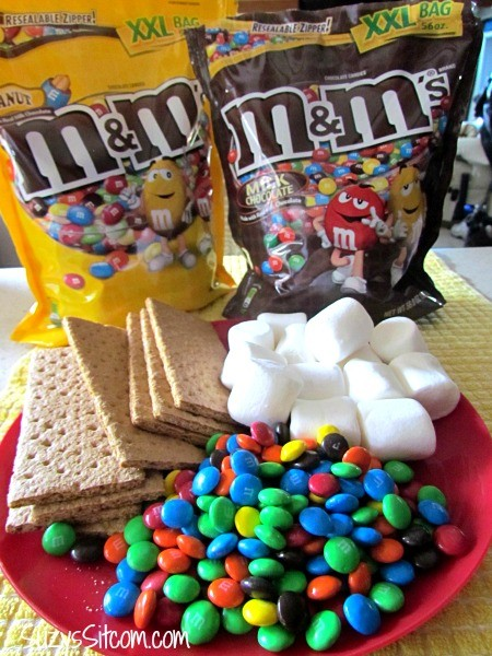 M&M Smores and Lobster fun