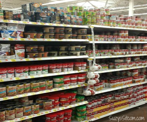 walmart aisle camp bells