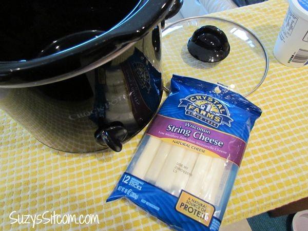 crock pot baked ziti and meatballs
