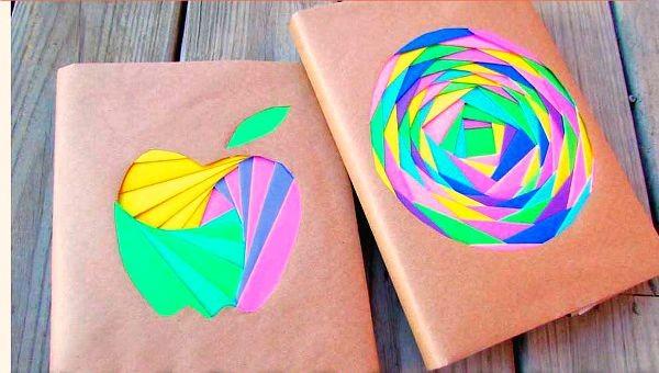 iris folded book cover