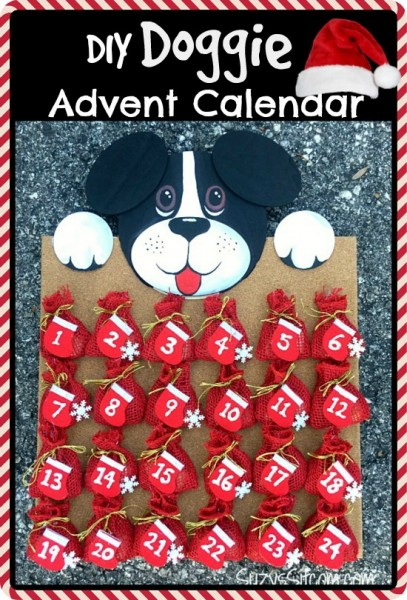 diy doggie advent calendar