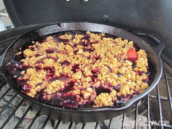 skillet 3-berry cobbler recipe3