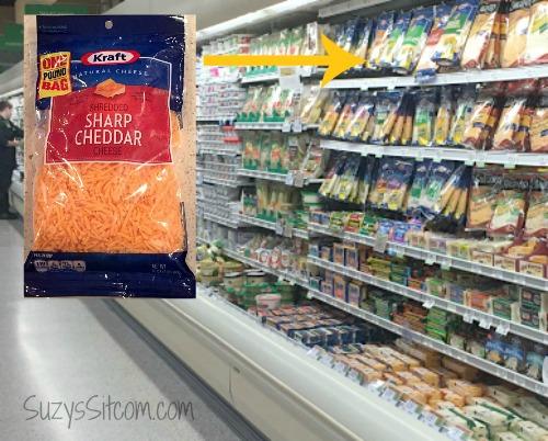 walmart cheese aisle