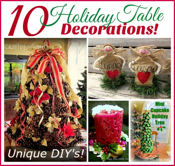 Fun Christmas Table Decorations: 10 Fun To Make Holiday Table Decorations