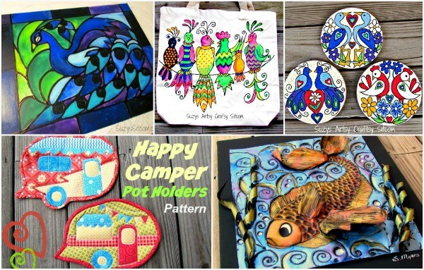 5 free patterns from the Sitcom!