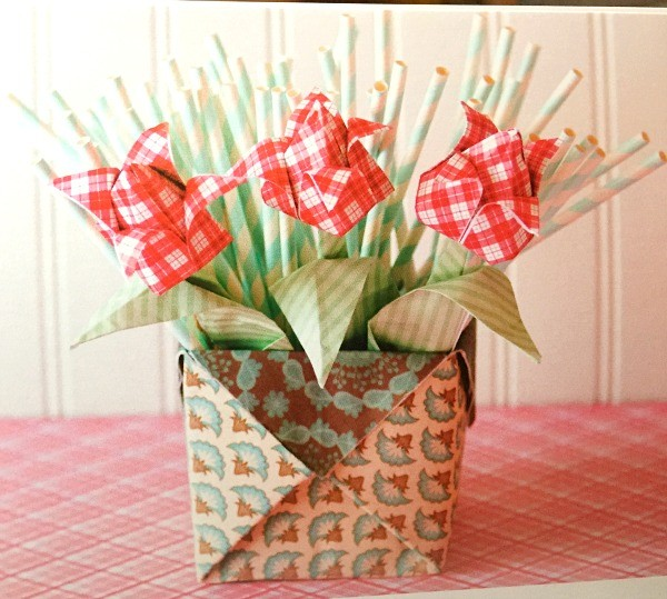 origami flowers and boxes book