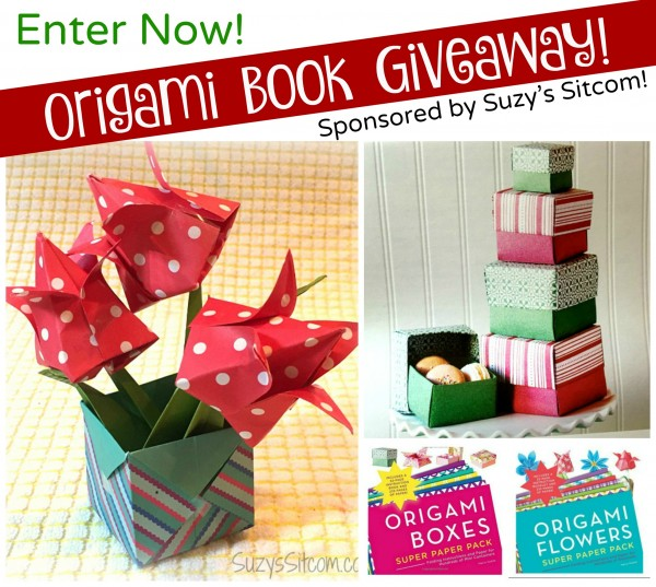 Origami Flowers and Boxes- Fun Book Giveaway! - photo#38