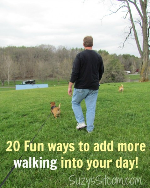 20 fun ways to add more walking