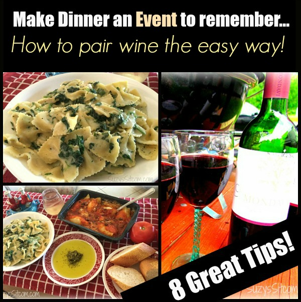 Make dinner an event to remember how to pair wine the easy way - Make good house wine tips vinter ...