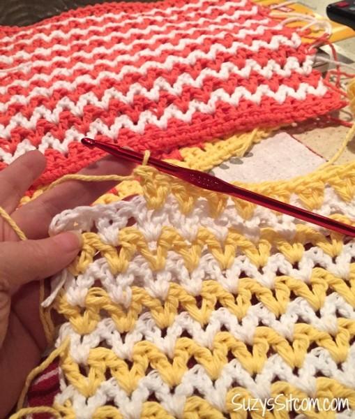 easy zigzag crochet pattern
