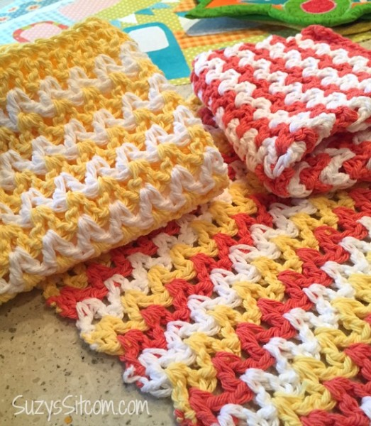 easy zigzag crochet pattern