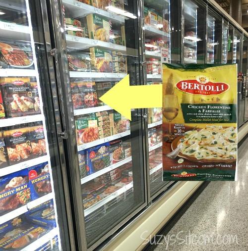 kroger frozen food aisle