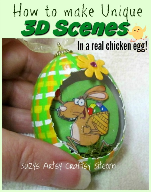 chicken egg art
