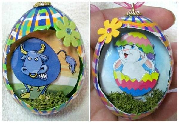 chicken egg art