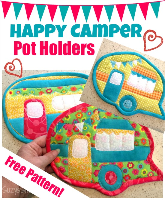 campervan pot holders