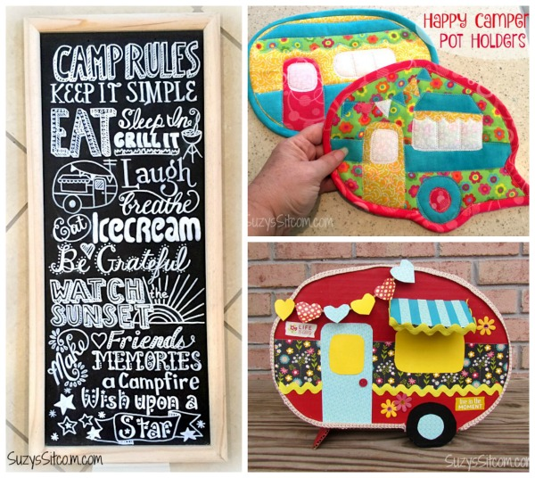 camping theme patterns from Suzys Sitcom