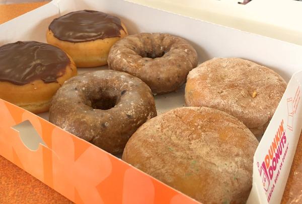 grandde burrito dunkin donuts
