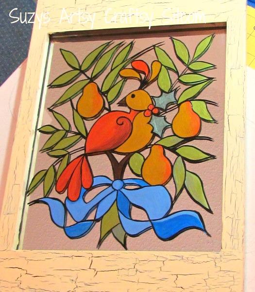 partridge pear tree pattern