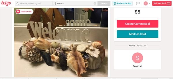 letgo app for selling all your stuff